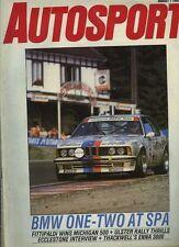 Autosport Aug 1st 1985 *Enna F3000 & Spa ETCC*