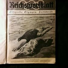Official Olympic Magazine HC 1936 Germany