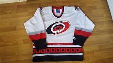 Vintage NHL Carolina Hurricanes Hockey Jersey By Starter. Men's Size x Large.