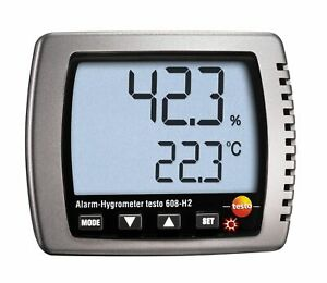 A●Testo 608-H2 (0560 6082)Humidity Dewpoint Temp Hygrometer Dew Point Meter Test