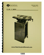 Rockwell 4 Jointer Model 37 290 Instruction Amp Parts List Manual 1355