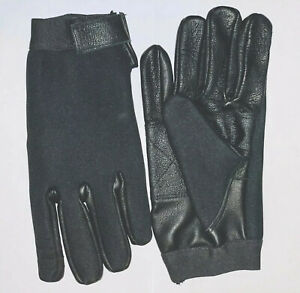 ALL PURPOSE TACTICAL NEOPRENE PATROL DUTY POLICE SEARCH SHOOTING HUNTING GLOVES