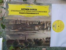 DVORAK: String quartets n°8 + n°10 > Prague Prag SQ /Deutsche Grammophon Germany