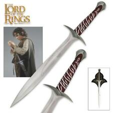 """The Hobbit Lord of the Rings Frodo Baggins 22"""" Sting Sword United Cutlery COA"""