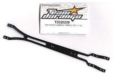 RC Team Durango TD320239 Carbon Top Chassis Deck Plate DETC410 v2 Car Optional