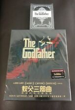 Godfather Trilogy Blufans Blu-ray Steelbook, Gold Version, New/Sealed, with card