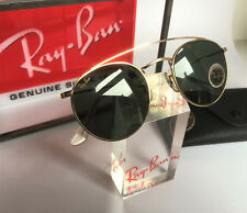 Vintage Original Ray Ban B&L USA Round Metal Gold W1345, neu!