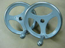 for UNISAWS and HD SHAPERS painted with polished rims DELTA HAND WHEELS