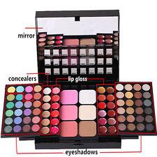 78 Color Women Makeup Palette Eyeshadow Blush Powder Lip Gloss Cosmetic Set Kit