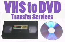 VHS S-VHS VHS-C TO DVD OR DIGITAL FILES TRANSFER SD Card, USB Flash Drive (NTSC)