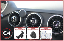 Clearmounts Swivel Magnetic & Cradle Phone Holder - Audi TT MK3 2015-2021 (8S)