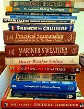 Sailing Books Pardey Dashew Calder Hinz Greenwald Chesapeake Parsons Coles U pic