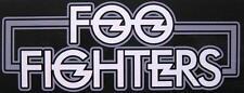 "Foo FIGHTERS Adesivo/Sticker # 16 ""LOGO"""