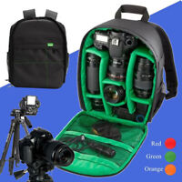 1Pc Waterproof DSLR Camera Video Backpack Shoulder Bag For Canon Nikon Sony New
