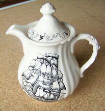 Mason's Patent Ironstone American Maritime Series handled pitcher sailing ship