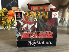 METAL GEAR SOLID - EDIZIONE SPECIALE playstation 1 ps1 tiratura limitata PAL ITA