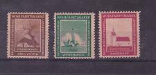 oldenburg 1945 three rare labels MNH      d2142
