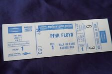 PINK FLOYD 1977 Original__UNUSED__CONCERT TICKET - Madison Square Garden, NYC