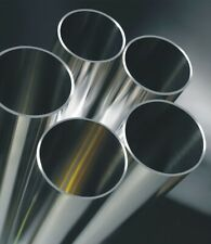 """Stainless Steel Grade 304 Exhaust tube 63.5mm 2.5"""" 1.2mm wall 1 metre length"""