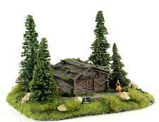 ☝️Diorama H0 Berghaus Berghütte Berghof Patiniert #Modellbau aus Potsdam