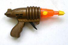 Vintage 1990's WEIHUA SPURT FIRE GUN Space Ray Gun Sparkling Pistol Orange