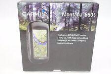 NEW Garmin Montana 680t Touchscreen GPS Glonass Handheld Receiver TOPO US 100k