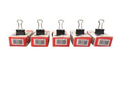 60 Klammern Foldback Klammern 15mm Vielzweckklammern Heftklammern Büroklammern