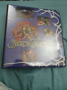 MTG Magic the Gathering Stronghold 3 Ring Binder