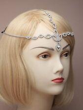 LADIES DIAMANTE CRYSTAL HEAD hair CHAIN BAND 4561 wedding indian crystal BOHO