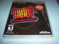 Guitar Hero: Warriors of Rock (Sony Playstation 3 ,2010) PS3 NEW