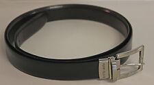 Perry Ellis Men's Belt Reversible Black Brown Size XXL 100% Bonded Leather