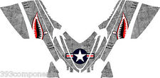 Arctic Cat M7 M8 M1000 Crossfire 2005 - 2011 Graphics Decal kit Aircraft Jaws GY
