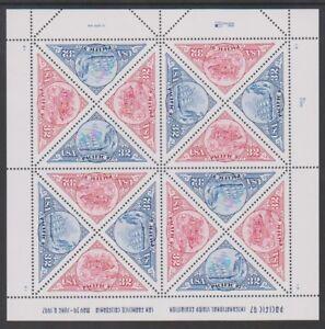 USA - 1997, Pacific '97 Int Briefmarkenausstellung Blatt - MNH - Sg 3281/2