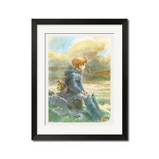 Hayao Miyazaki Nausicaa of the Valley of the Wind 22x30.5 Poster Print 0641
