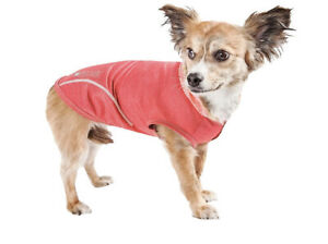 """Pet Life Active """"Pull Rover"""" 4 Way Stretch Performance Dog T-Shirt Hoodie, Sz XS"""