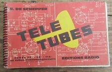 ANCIEN OUVRAGE  TELE TUBES TSF 1964