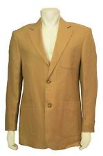 Mens Marconi Linen Sport Coat (Size 40R) Beige C3116