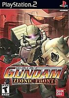 Mobile Suit Gundam: Zeonic Front - 2002 Strategy - Sony PlayStation 2 PS2