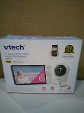 "Vtech 7"" Smart Wi-Fi 1080P Pan And Tilt Baby Monitor."