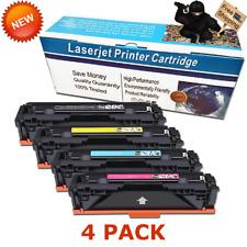 4 PK 045 H Compatible Toner Set for Canon 1246C001 MF634Cdw MF632Cdw LBP612Cdw
