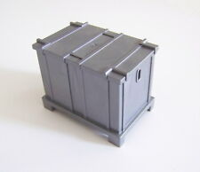 PLAYMOBIL (Q1252) CHANTIER - Container Gris avec Couvercle Grue 3262 4080 4476