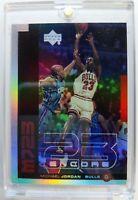 1999 99 Upper Deck Encore MJ23 Michael Jordan #M11, Rare Refractor-Like Parallel