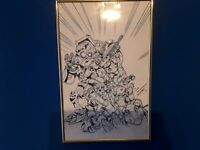 Empowered Special #4 Original Art Front Cover Signed By John Staton