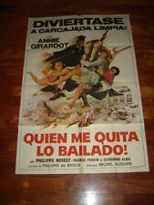 ON A VOLE LA CUISSE DE JUPITER MOVIE POSTER ARGENTINA 1980 GIRARDOT NOIRET