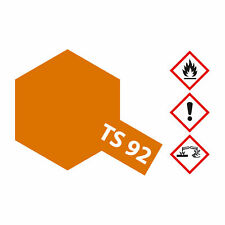 (7,80€/100ml) Tamiya TS-92 Metallic Orange 100ml Sprayfarbe Kunstharz 300085092