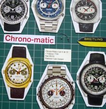 1970s Chrono-Matic Breitling Heuer Cal.11+12+14+Val 7740 #8356 Hammer Cam Jumper