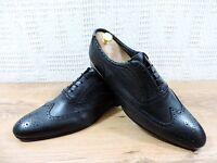 PAUL SMITH Homme Cuir Noir à lacets richelieu chaussures - UK 10.5 US 11.5 UE 45