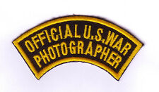 WWII - OFFICIAL US WAR PHOTOGRAPHER (Reproduction)