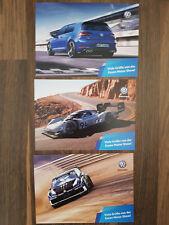 VW Postkarten Set Golf R Polo WRX Pikes Peak