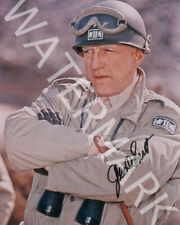 GEORGE C. SCOTT SIGNED 10X8 PHOTO, GREAT PATTON IMAGE, LOOKS AWESOME FRAMED